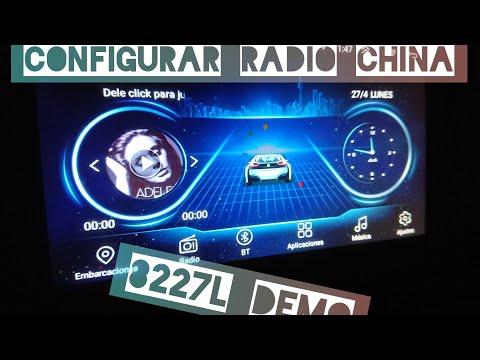 Configuración y soluciones de audio de radio china 8227L parte 1