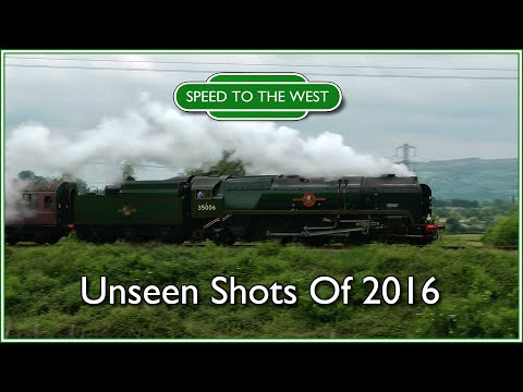 Speed to the West: The Unseen Shots of 2016