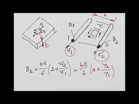 Structural Idealisation and Transverse Shear Flows in Idealised Structures - I