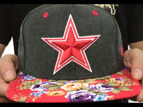c26ba605a4034 Cowboys  HEATHER BLOOM SNAPBACK  Charcoal-Red Hat by New Era - YouTube