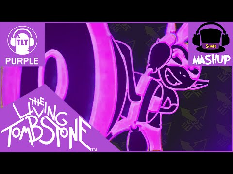 MASHUP | The Living Tombstone - Squid Melody [Purple Version REMAKE] (BLUE + RED)