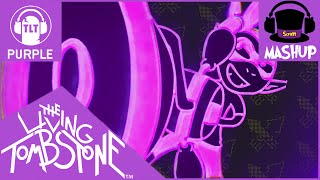 MASHUP   The Living Tombstone - Squid Melody [Purple Version REMAKE] (BLUE + RED)