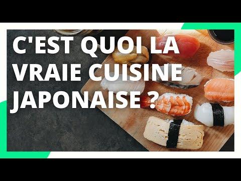 La Vraie Cuisine Japonaise N Est Pas Celle Que Vous Croyez Youtube