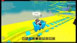 Roblox Cart Ride, Moi et p o on rage XD