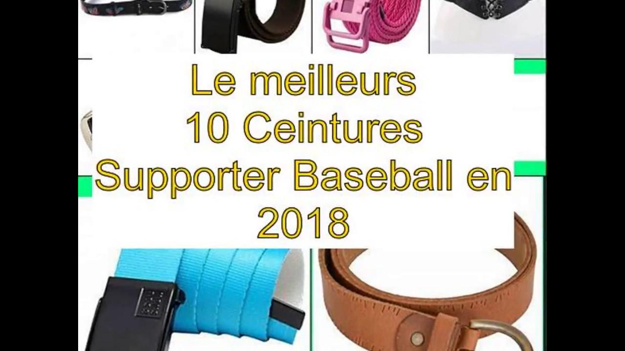 Le meilleurs 10 Ceintures Supporter Baseball en 2018 - YouTube 4d402662815