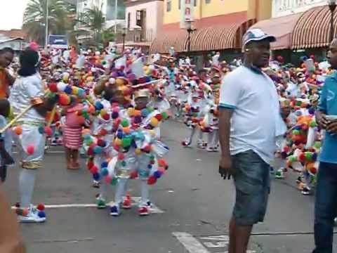 Curacao youth parade Carnaval 2013 Febr. 03