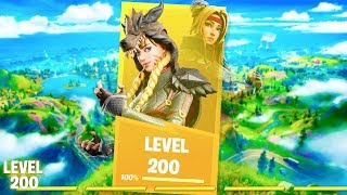 Perfect Game For Unlocking LEVEL 200 in Fortnite Chapter 2!