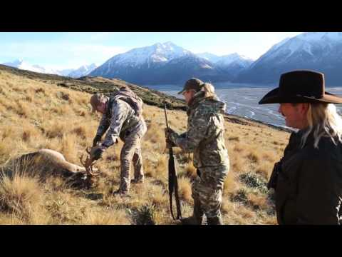 Video Hunting New Zealand with Amy Martin Shaffer & Colorado Buck