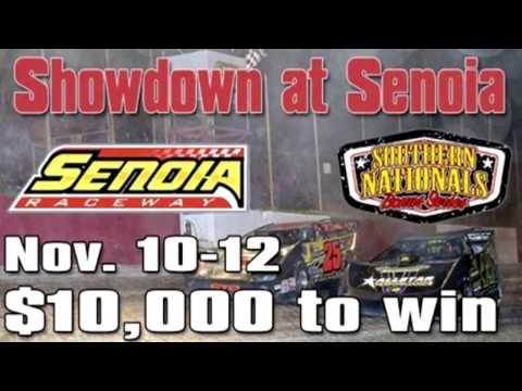 RacersEdgeTv | New Senoia Raceway | SOUTHERN NATIONALS BONUS RACE | Nov  11 & 12 , 2016
