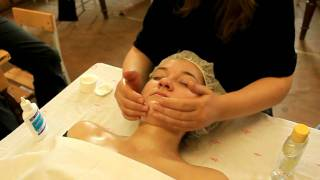 видео массаж лица
