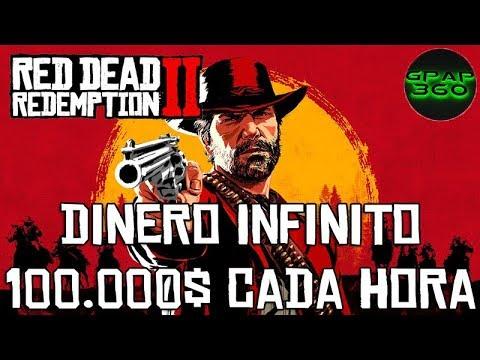 Red Dead Redemption 2 | Truco: 100.000$ cada hora (Dinero infinito)