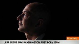 Jeff Bezos Paid Asking Price for Washington Post