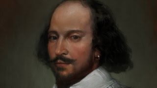 William Shakespeare - painting time lapse