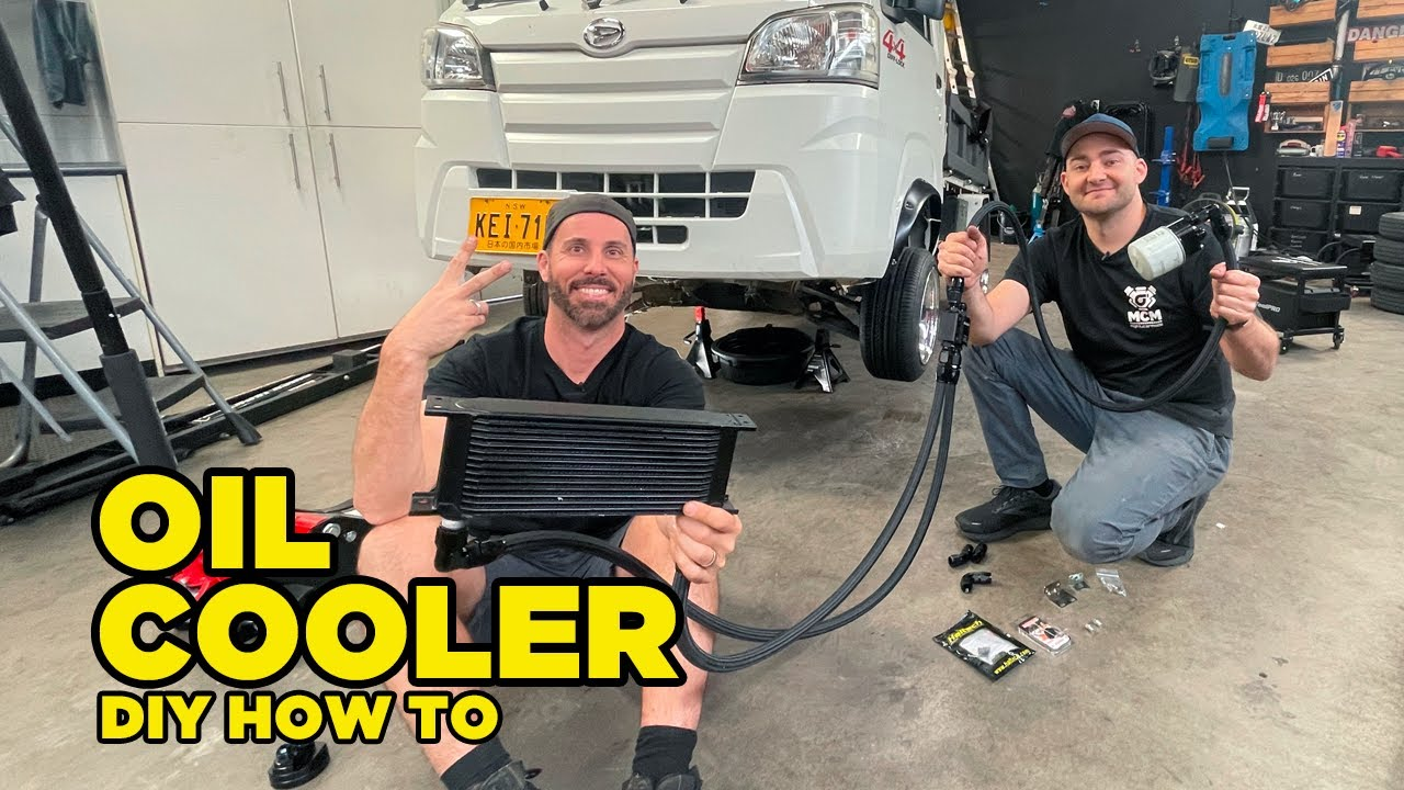 How to Install an OIL COOLER