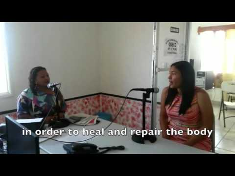 Fluvia Humphreys, M.D. Live Radio interview, La Ceiba, Honduras