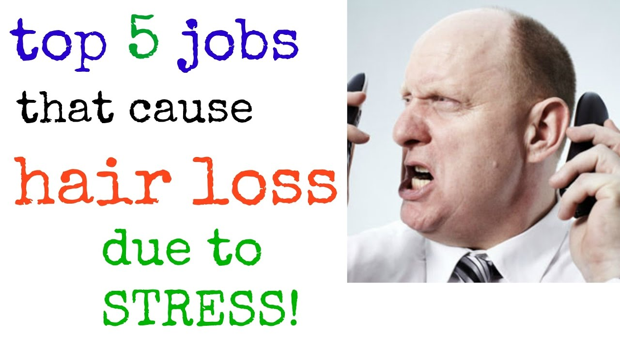 Top 5 most stressful jobs