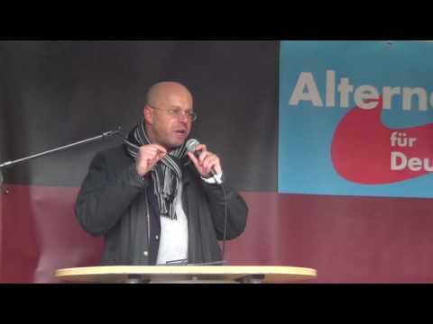 AfD Demo in Bielefeld am 05.11.2016 (ungeschnitten und ohne Stativ)