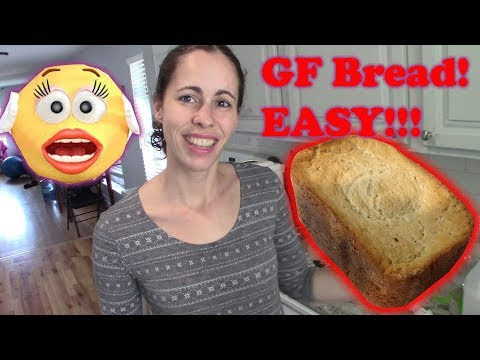 Homemade Gluten Free Bread Recipe Made EASY! (in Bread Machine)