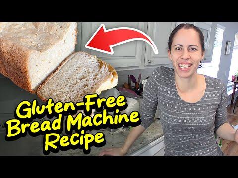 Homemade Gluten Free Bread Recipe Made EASY! (in Bread Machine)