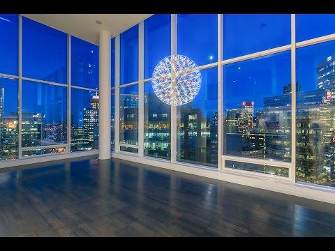 2603 1011 W Cordova, Vancouver - Luxury Sky Loft at Fairmont Pacific Rim in Coal Harbour