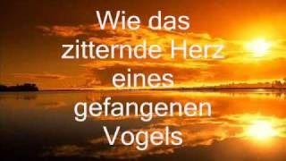 Leona Lewis - The First Time I Ever Saw Your Face (Deutsche Übersetzung)