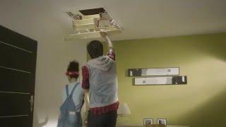 видео чердачные лестницы