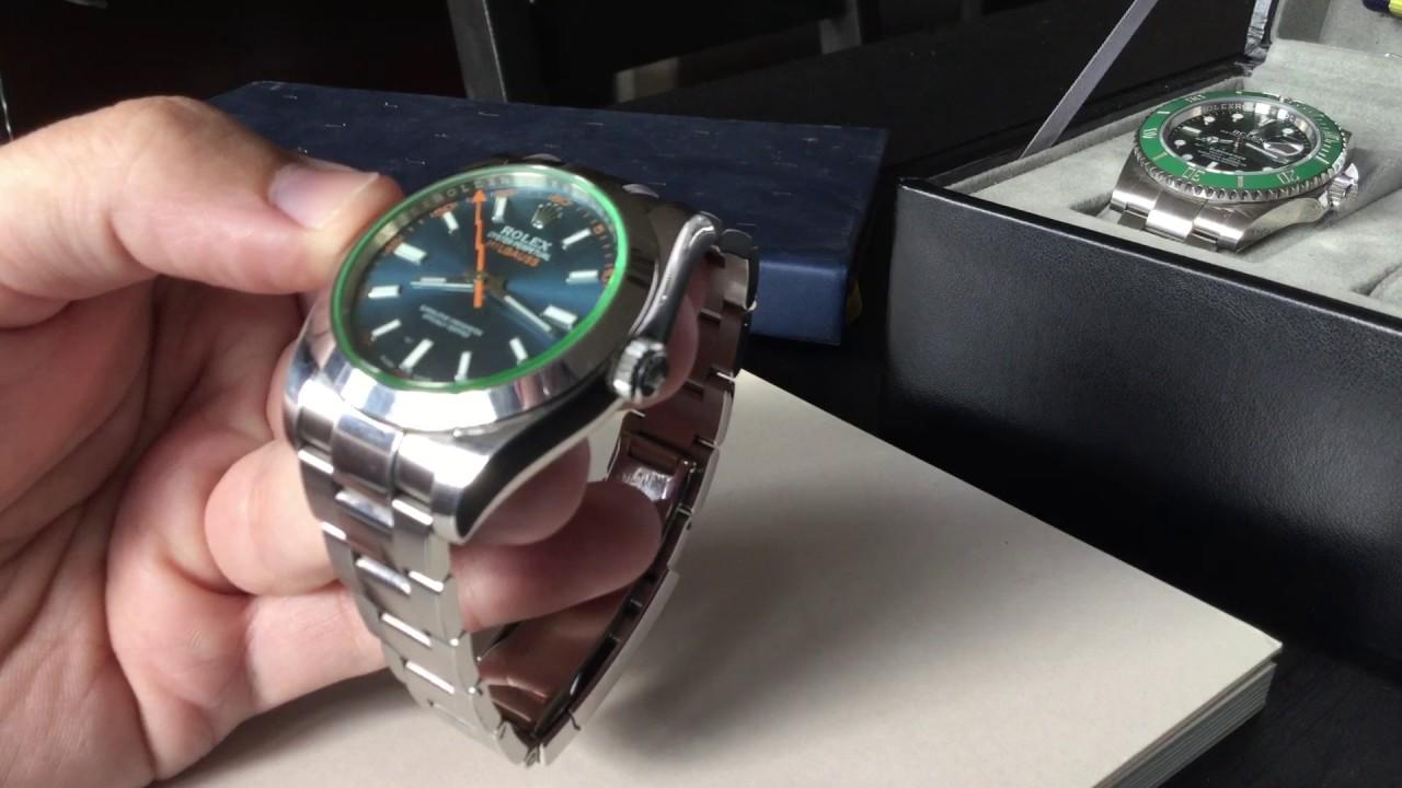 Hands On Review Rolex Milgauss Z,Blue 116400GV