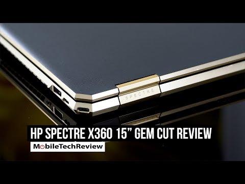 HP Spectre x360 15' Gem Cut Review- GTX 1050 Ti MQ + 6 Core CPU