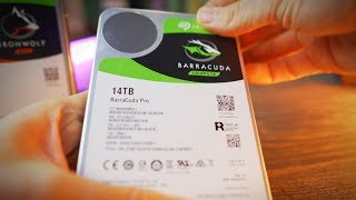Seagate 14TB Barracuda Pro Review - 1 Day Stress Test + Thermals