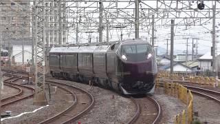 【東海道線】団体列車E655系なごみ(和)5両 2019.2.9 国府津
