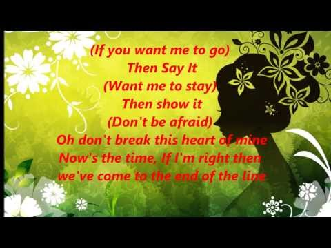 End of the Line by Honeyz with lyrics