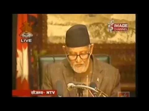 PM Sushil Koirala