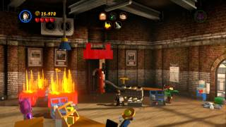 LEGO Marvel Super Heroes - Tabloid Tidy Up 100% Guide (Red Brick X4, Doctor Octopus - Ultimate)