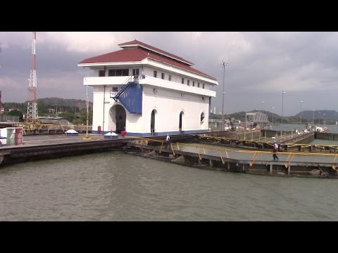 Boat Tour through the Panama Canal - Gamboa to the Pacific Ocean (April 25, 2017)