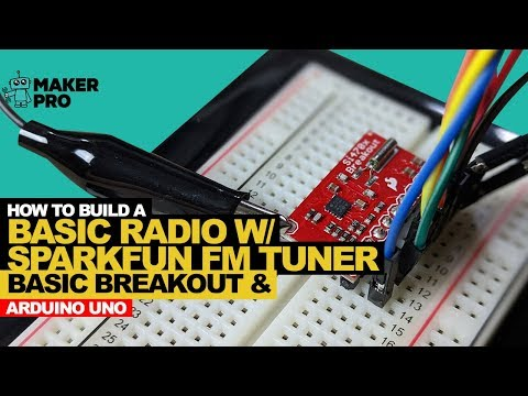 How to Build a Basic Radio with an Arduino Uno the SparkFun