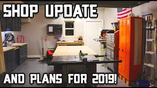 2019 Shop Tour & Upcoming Projects
