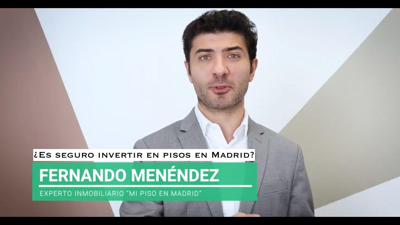 ¿Es seguro invertir en pisos en Madrid?