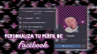 ❒   ♥︎ᵎᵎPersonaliza tu perfil de Facebook  🕊️ ! screenshot 1