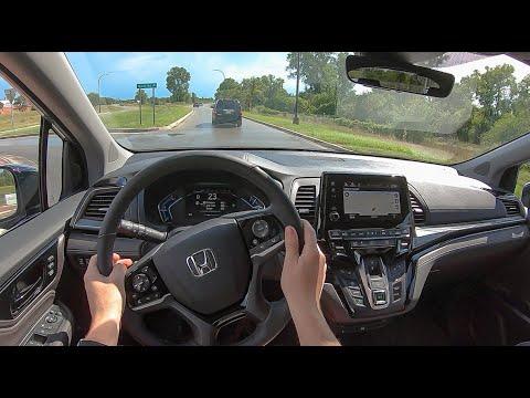 2021 Honda Odyssey Elite - POV Test Drive (Binaural Audio)