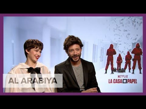 La Casa de Papel's Álvaro Morte and Úrsula Corberó talk hotly-anticipated Part 3