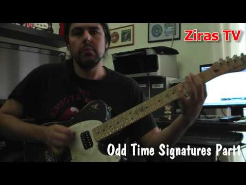 Odd Time Signatures Part1 (5/4)   Lick Of The Week 46