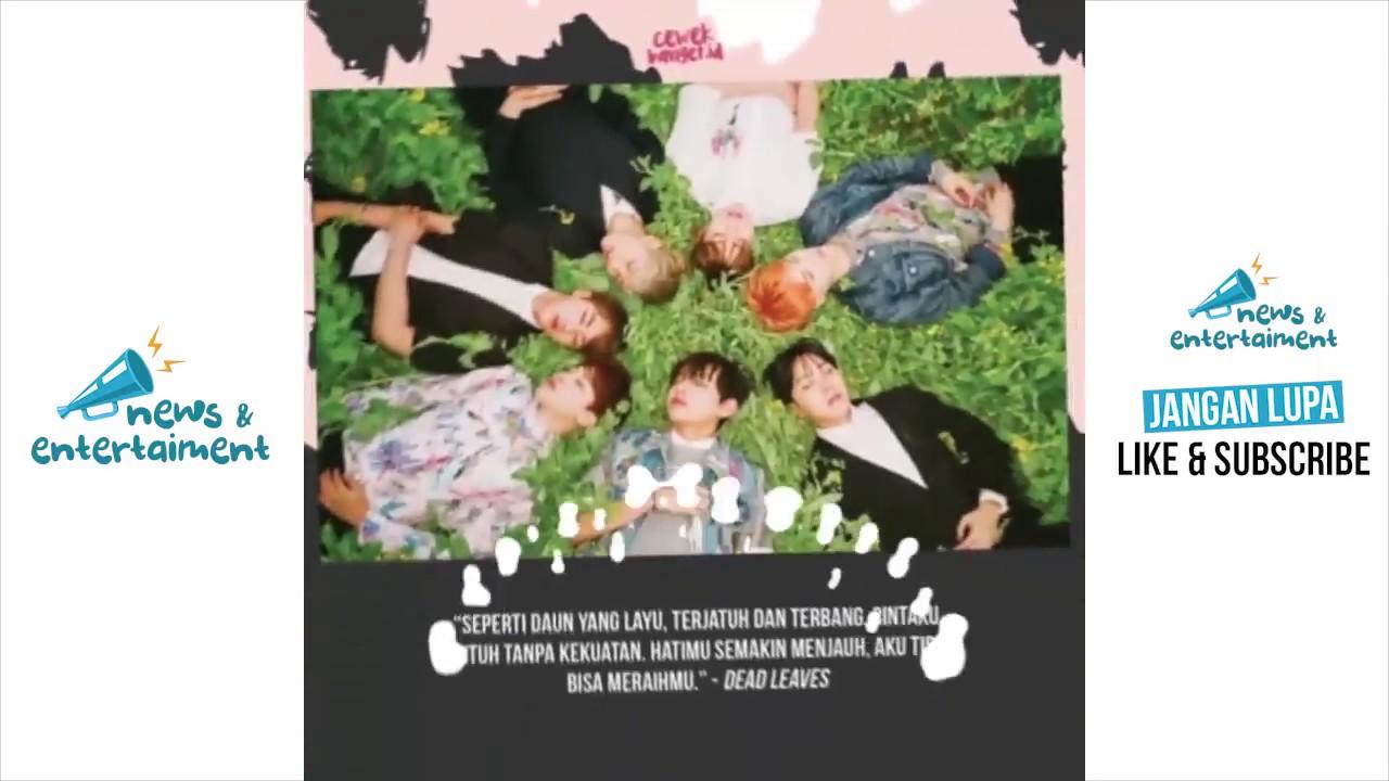 10 Lirik Lagu Galau & Romantis Dari BTS Yang Ngena Banget