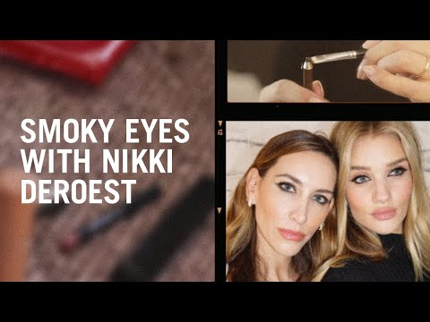 Nikki DeRoest And Rosie Huntington-Whiteley React To Lisa Eldridge's Smoky Eye Tutorial
