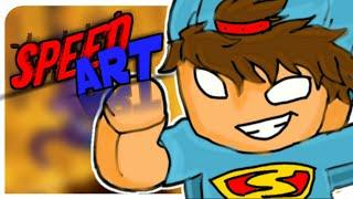 SPEED ART! (Von mir) Cartoon für DIOGO BR - Cartoon-ABS DIOGO BR