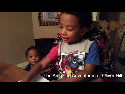 The Amazing Adventures of Oliver Hill Book Commercial 15 sec