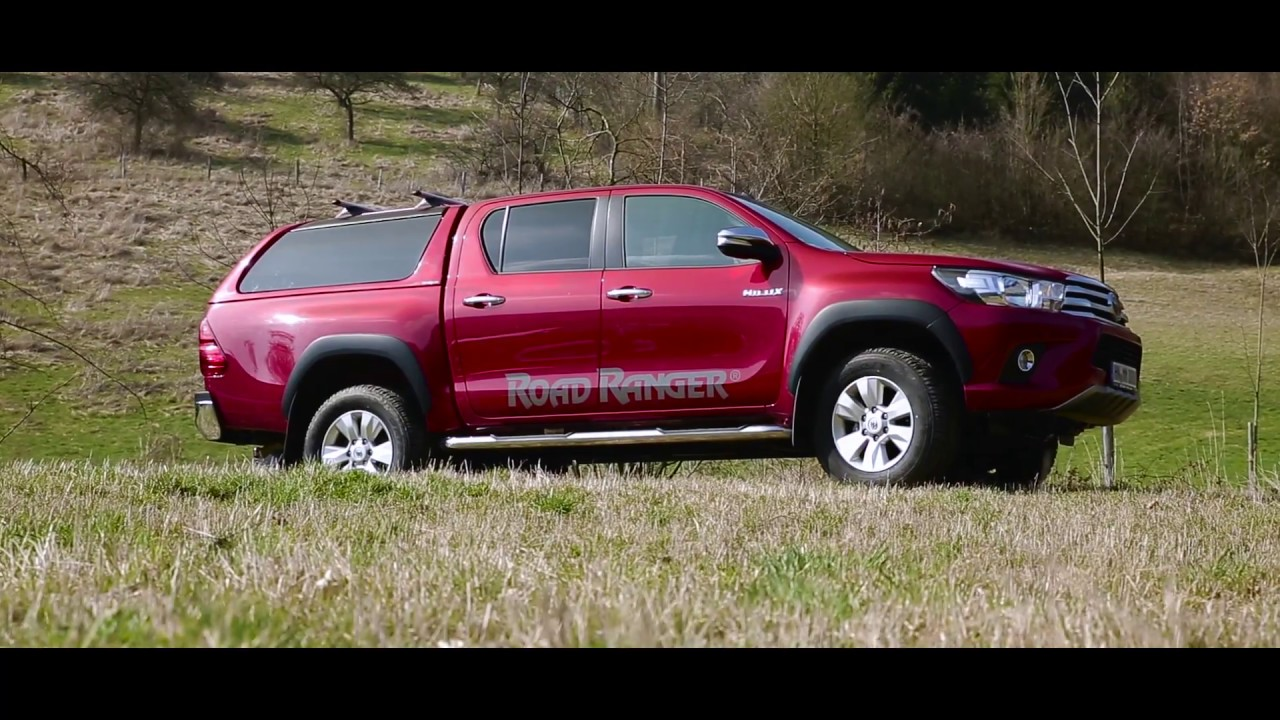 toyota hilux road ranger rh4 hardtop youtube. Black Bedroom Furniture Sets. Home Design Ideas