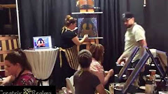 Creatrix Realms - Wine & Paint Party in Eugene Oregon - Spanish Guitar Painting