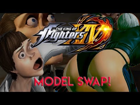 King of Fighters XIV - Model Swap/Move Swap