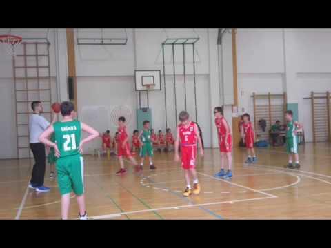 U11 Slovan Union Olimpija zeleni - 2016-05-15 Ledina (1 cetrtina)