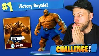 THE RZECZ CHALLENGE w Fortnite: Battle Royale